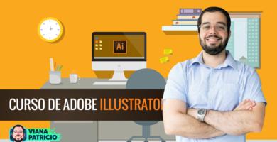CURSOILLUSTRATOR 01 390x200 - Curso Completo de Design com Adobe Illustrator